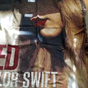 Taylor Swift Red Blanket